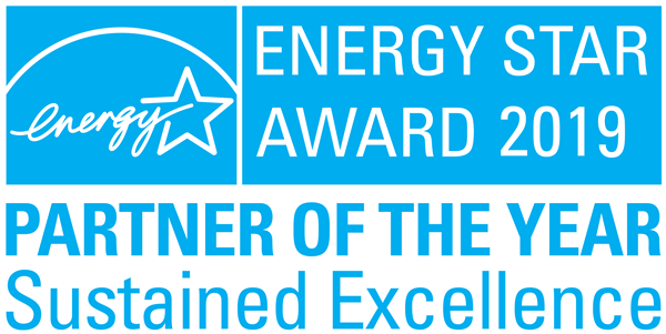 ENERGY STAR Award 2019 - Partner of the Year Sustained Excellence